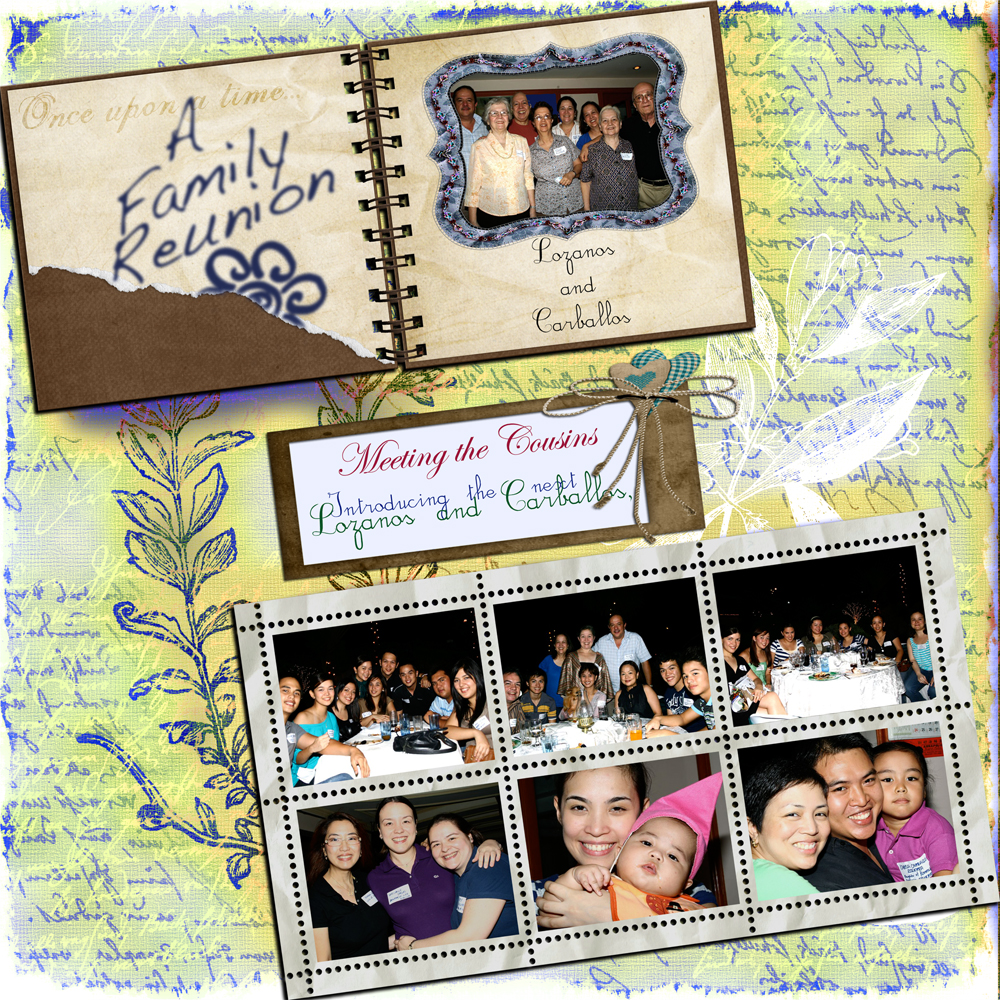 1000 images about scrapbook family reunion on pinterest family reunions scrapbook pages and - Scrapbooking idees pages ...